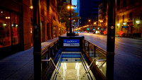 Chicago Subway entrance on State