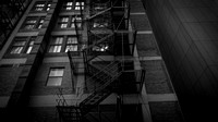 Retro Fire Escape, Chicago